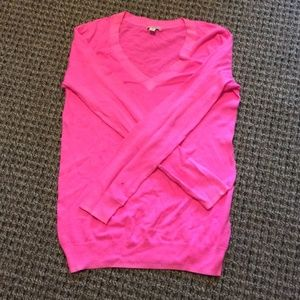 GAP Tops - Gap Pink Pull Over Sweater long sleeve size XS